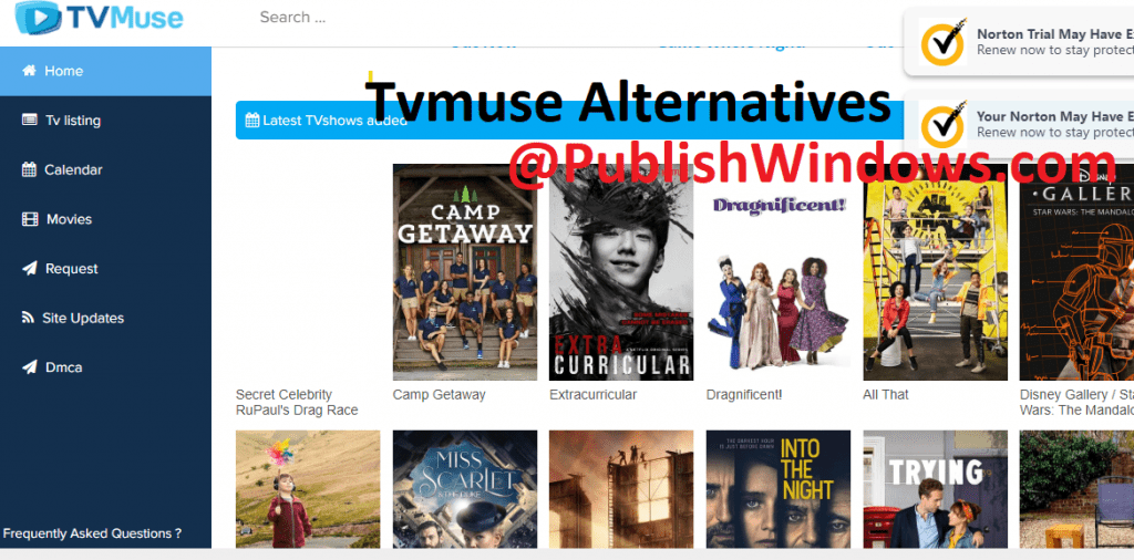 top TVMuse Alternative